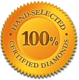 Hand Selected Certified Diamonds