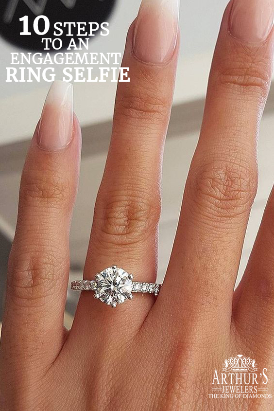 10 Steps to an Engagement Ring Selfie