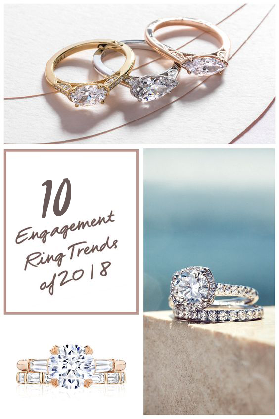 10 Engagement Ring Trends for 2018