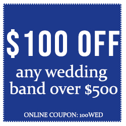 $100 Off Wedding Bands