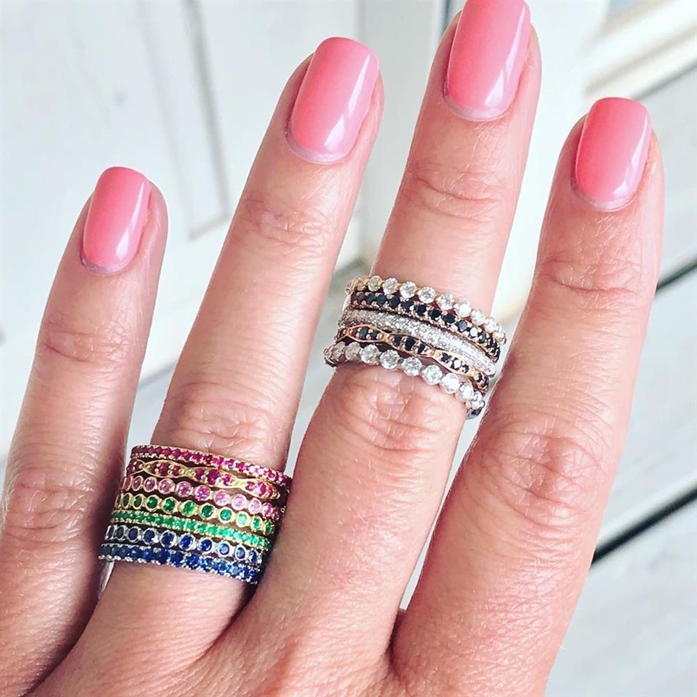 Tacori Rainbow Rings