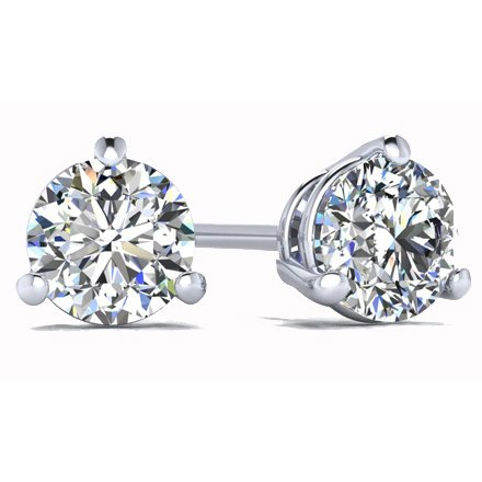 1.00ct Lab Grown Diamond Studs