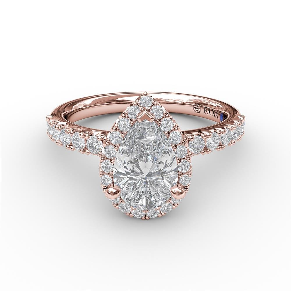 Shop Pear-Shaped Diamond Engagement Rings