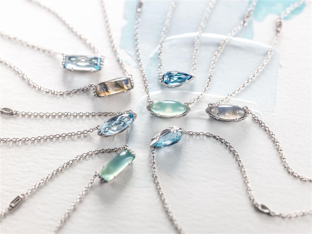 Tacori Horizon Shine Pendants in Every Gemstone #ArthursJewelers