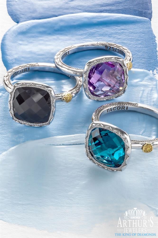 Tacori Crescent Embrace Jewelry - Unique and Simple designs at Arthur's Jewelers