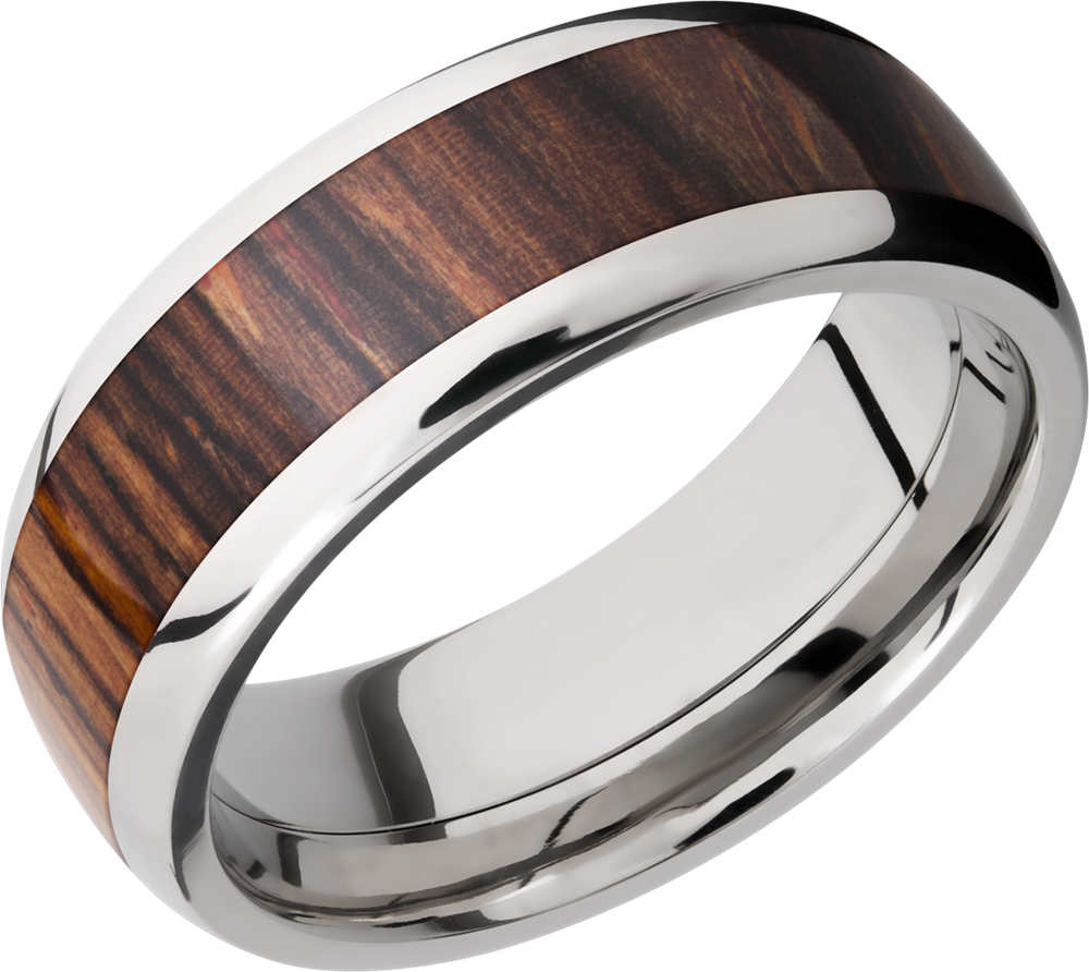 Hardwood Wedding Rings