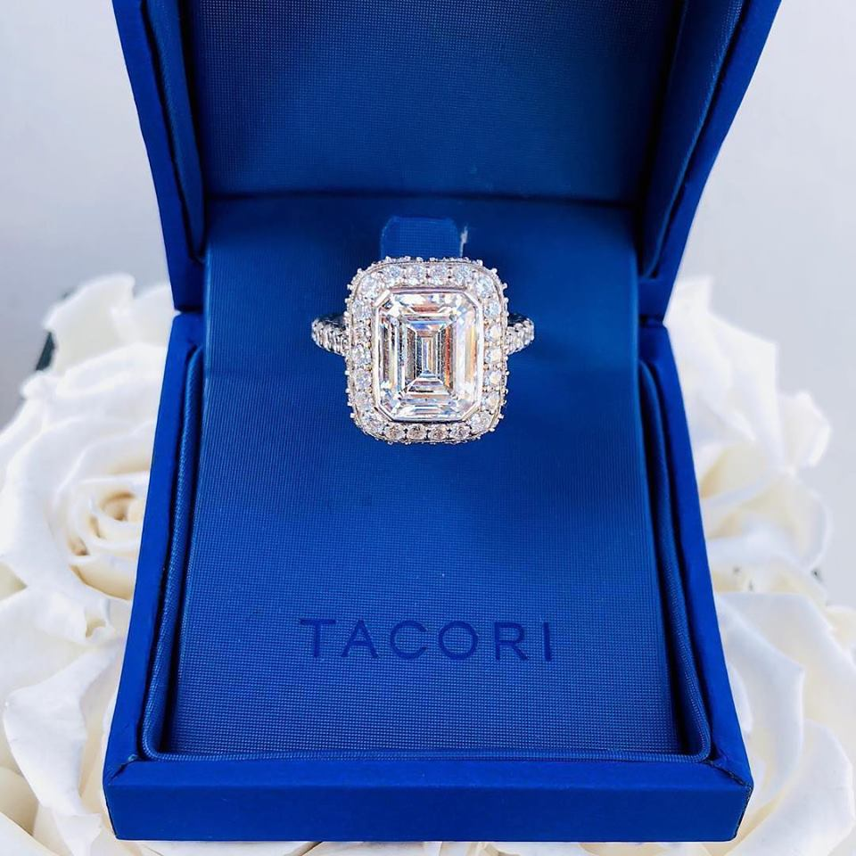 Shop Emerald Cut Diamond Rings