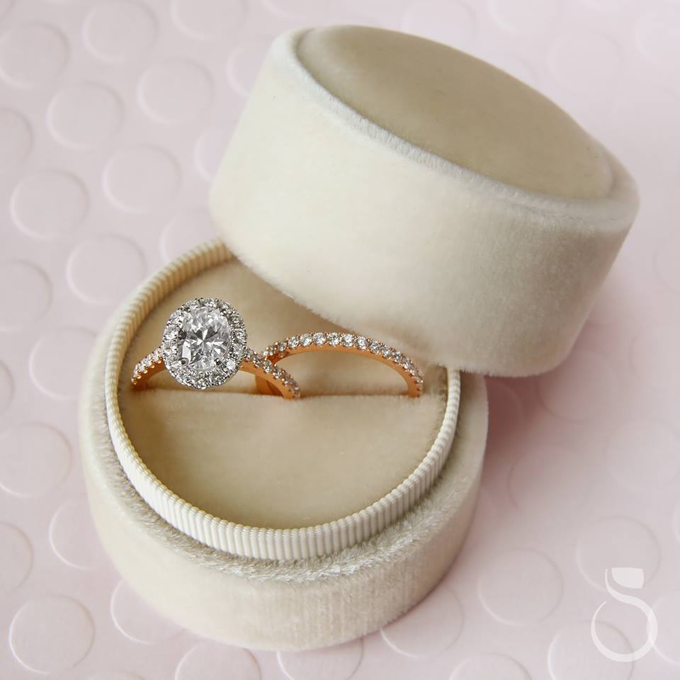 Sylvie Oval Engagement Ring