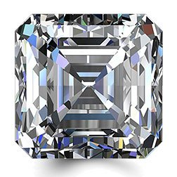 Picture of 0.50ct E-VS1  Cut Asscher Diamond