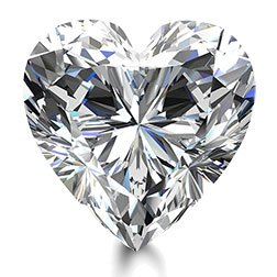 Picture of 0.96ct E-SI2  Cut Heart Diamond