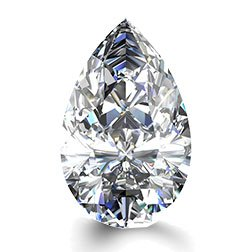 Picture of 0.50ct I-VS1  Cut Pear Diamond