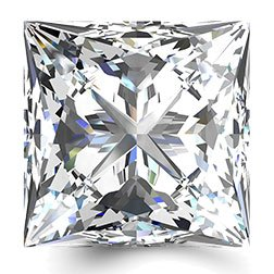 Picture of 0.71ct E-VS2  Cut Princess Diamond