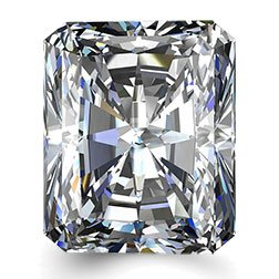 Picture of 0.53ct G-VVS1  Cut Radiant Diamond