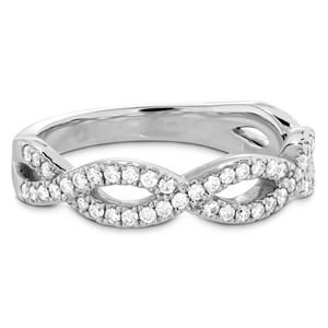 Picture of Destiny Twist Diamond Band platinum