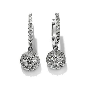 Picture of Fulfillment Diamond Drop Earrings