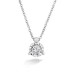 Picture of HOF Classic 3 Prong Solitaire Pendant