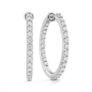 Picture of HOF Classic Diamond Hoop Inside-Out 22mm