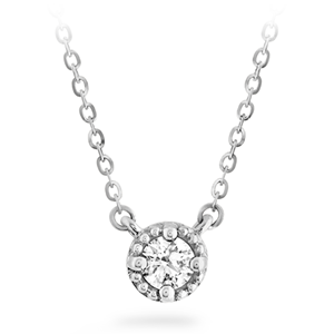 Picture of Liliana Milgrain Single Diamond Pendant
