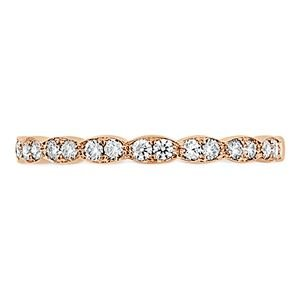 Picture of Lorelei Floral Diamond Band rose