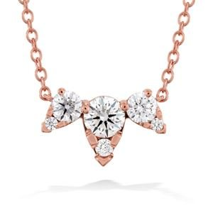 Picture of Aerial Triple Diamond Necklace