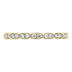 Picture of Lorelei Floral Diamond Band yellow