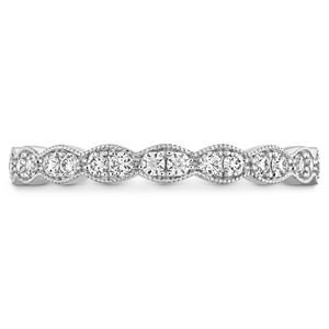 Picture of Lorelei Floral Milgrain Diamond Band