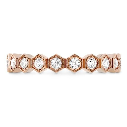 Picture of HOF Hex Eternity Band Rose