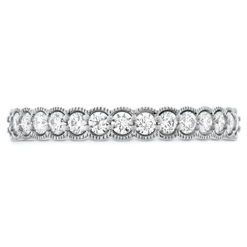 Picture of Isabelle Milgrain Diamond Band