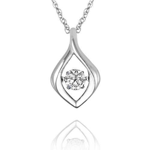 Arthurs collection sterling silver diamond necklaces designer rhythm of love diamond pendant in sterling silver aloadofball Image collections