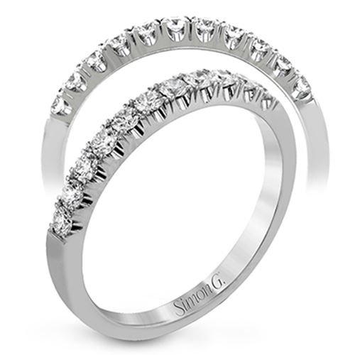 Simon G Lp2346 Diamond Wedding Band