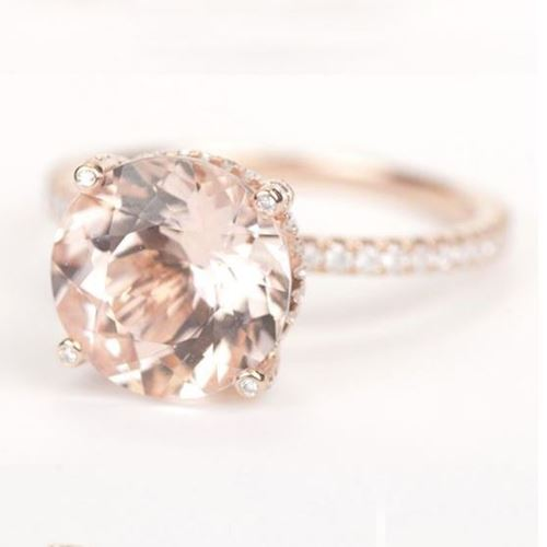 Picture of Morganite Ring