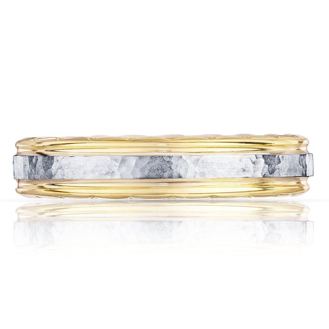 Tacori Plain Yellow Gold Mens Wedding Bands Designer Engagement