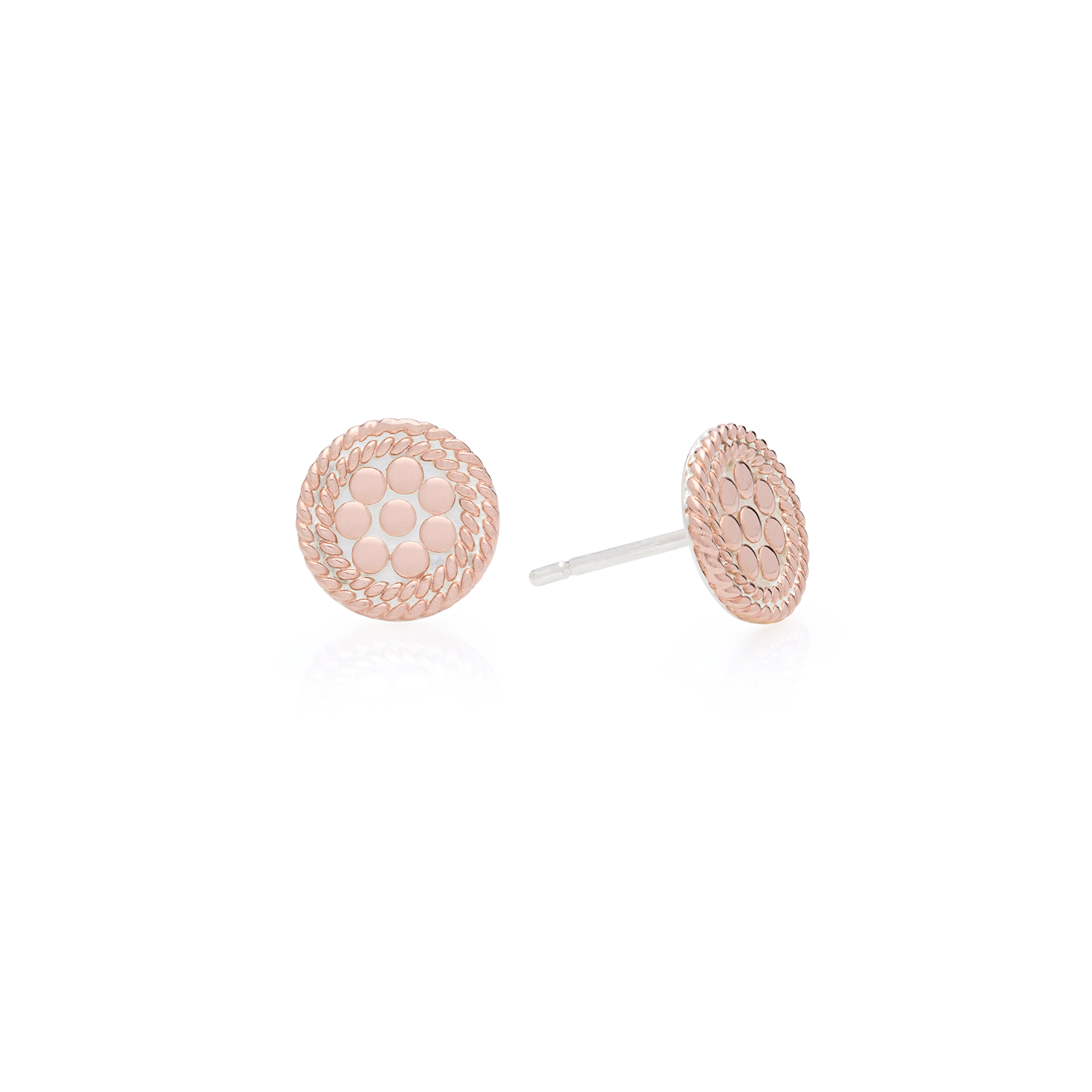 7f09ccfa5 Anna Beck Gold Plated Gold And Silver Earrings. Designer Engagement Rings &  Fine Jewelry: Arthur's Jewelers
