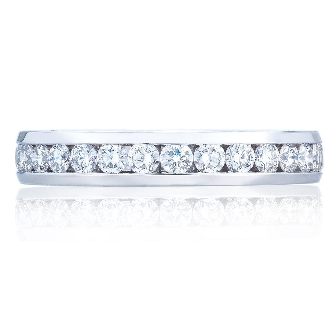 0c9bfabd1 Tacori Eternity 18K - White Gold Womens Wedding bands. Designer ...