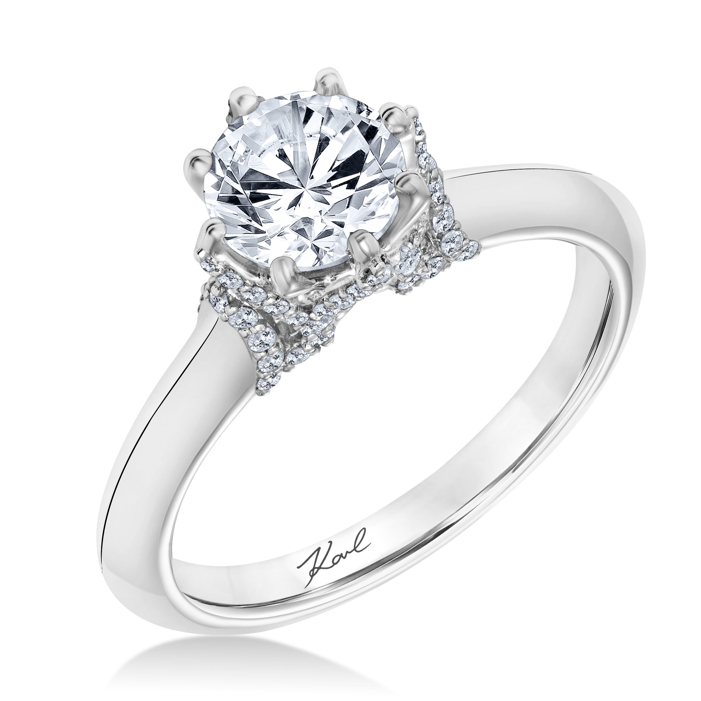 solitire rings solitaire classic products ring diamond wedding simulated