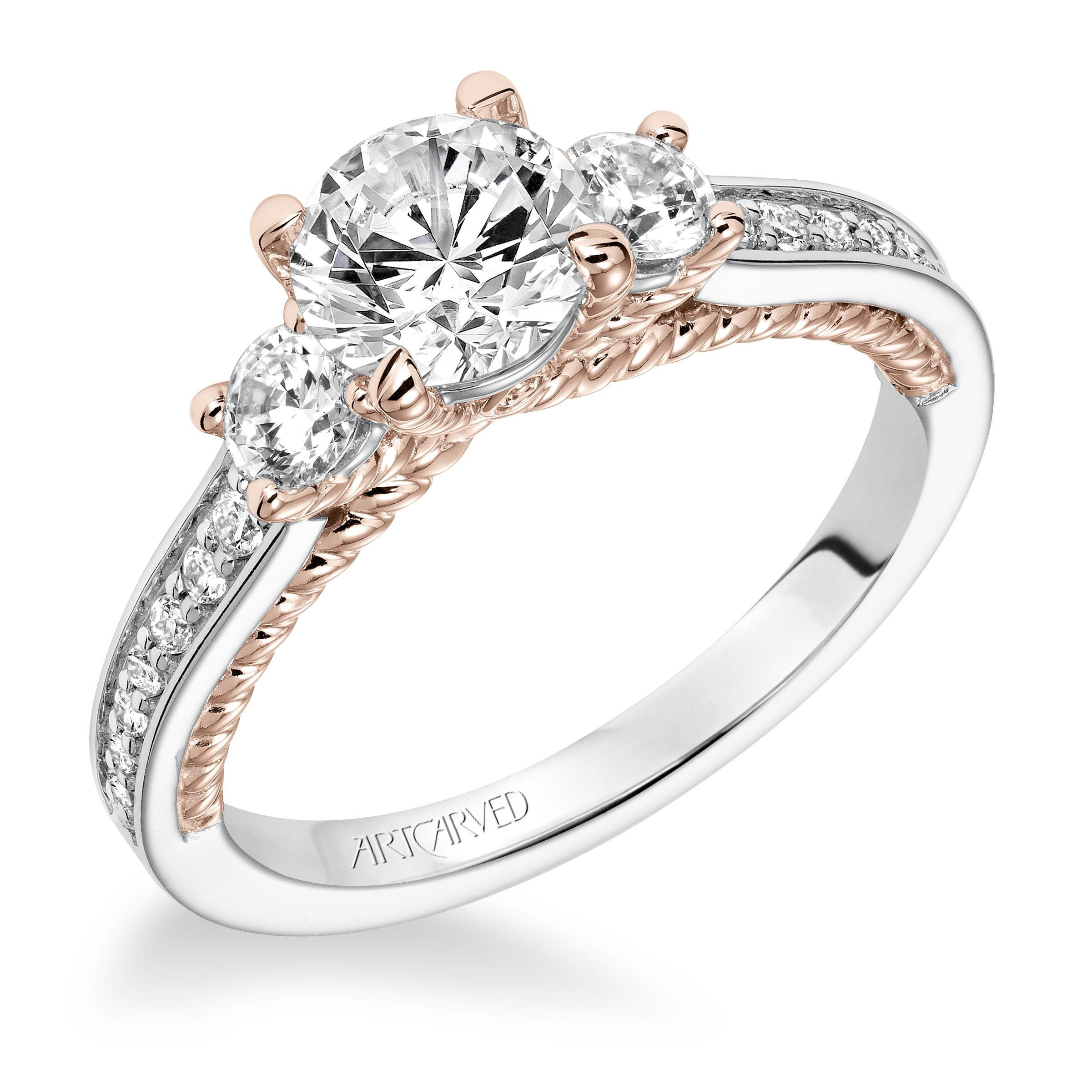 for luxury que beautiful goes engagement bands three diamond jewelry of band stone ring rings with lovely wedding