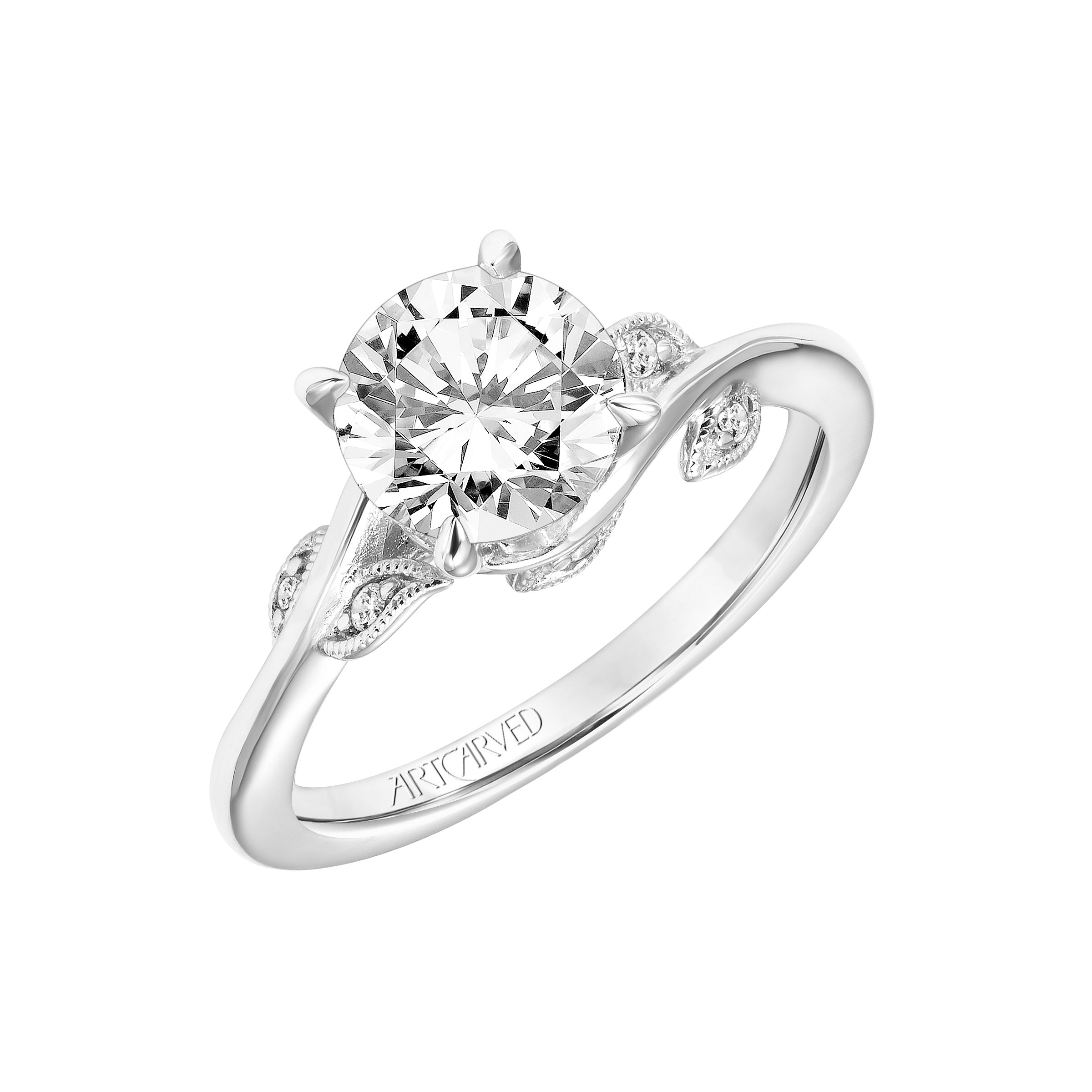 sterling ip set t w diamond rings twisted miabella band silver bridal walmart carat twist engagement halo com