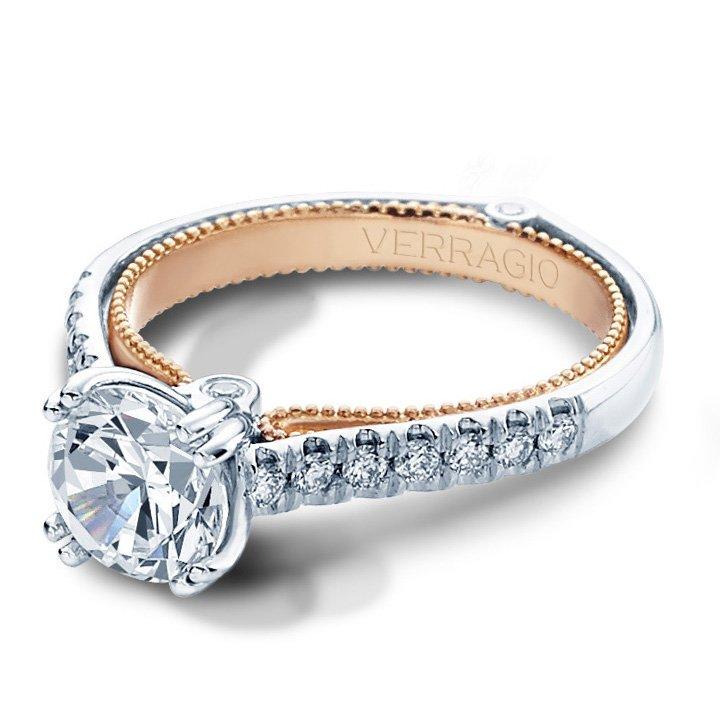 Verragio COUTURE-0412-TT Vintage Engagement Ring