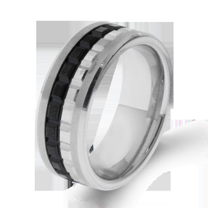 Arthurs Collection Plain Tungsten Carbide Mens Wedding Bands
