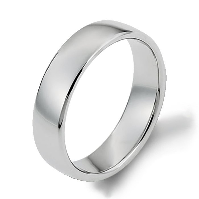 style finish plain l f polished titanium by band wedding simple rings bands ring