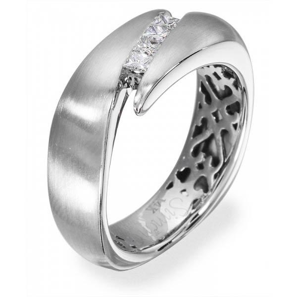 Simon G Diamond 18k White Gold Mens Wedding Bands Designer Engagement Rings Fine Jewelry Arthur S Jewelers