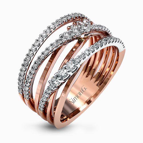 Simon G White Gold Yellow Gold 18k Rose Gold Diamond Rings Designer Engagement Rings Fine Jewelry Arthur S Jewelers