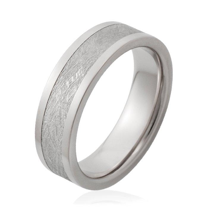 Chris Ploof Plain Meteorite Mens Wedding bands Designer