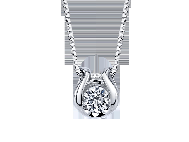 Arthurs Collection White Gold Diamond Necklaces Designer