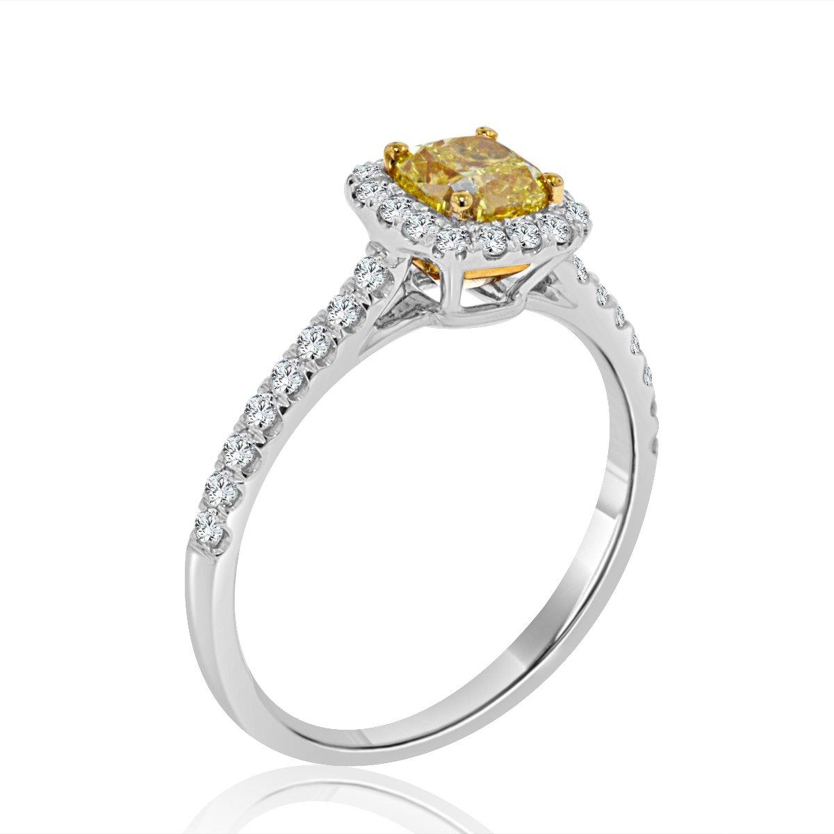 5f0a45eea Arthurs Collection Diamond Yellow Gold Womens Wedding bands ...