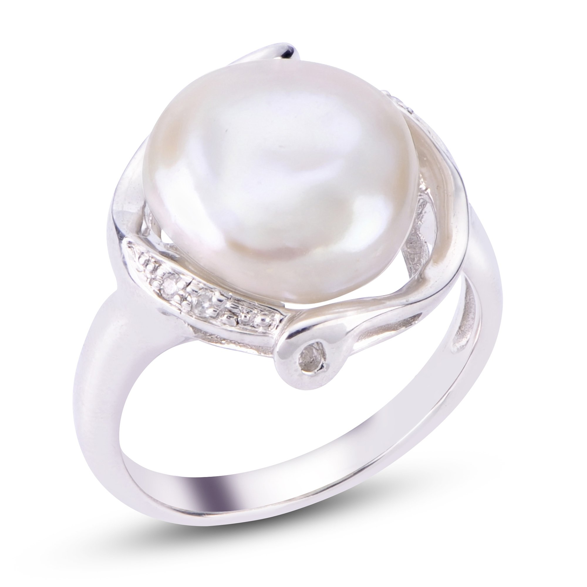 white diamond shipping set watches earring rings for pearl and sterling product today wedding free you silver freshwater ring overstock jewelry pendant pearls