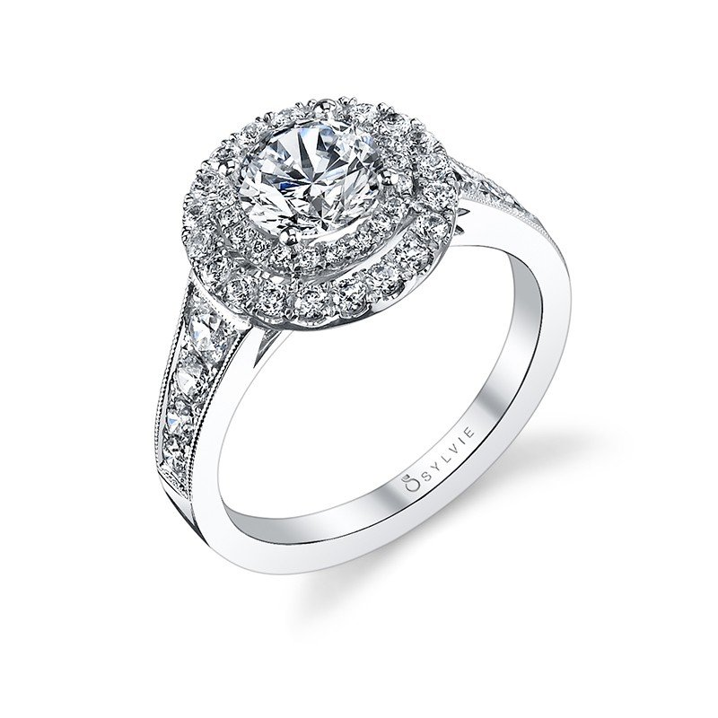 Home Engagement Rings S1119 Picture Of
