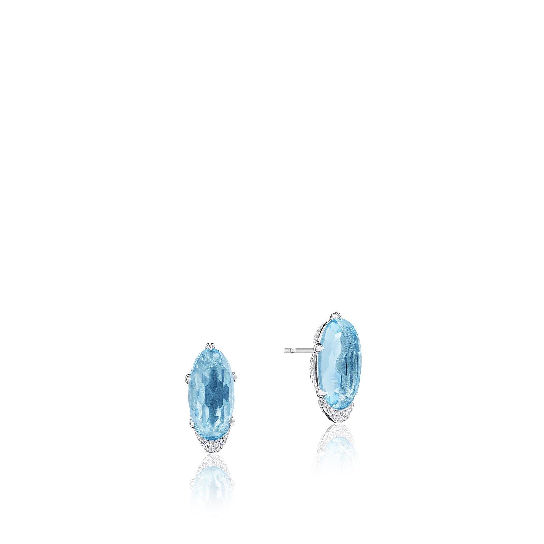 c81c17ec2d83af Tacori Sterling Silver Gemstone Earrings. Designer Engagement Rings ...