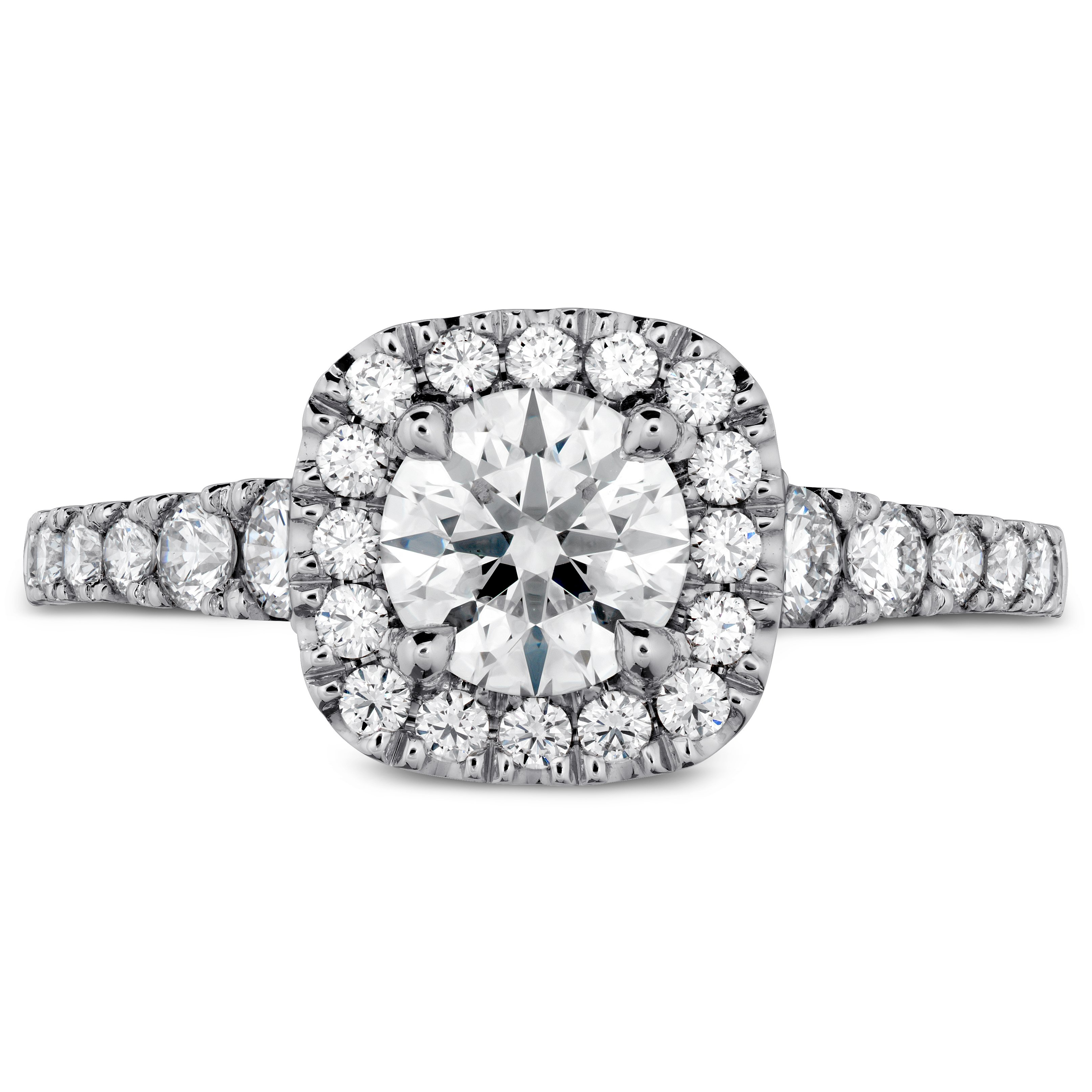 72168af61 Hearts on Fire Transcend Premier Custom Halo Diamond Engagement Ring